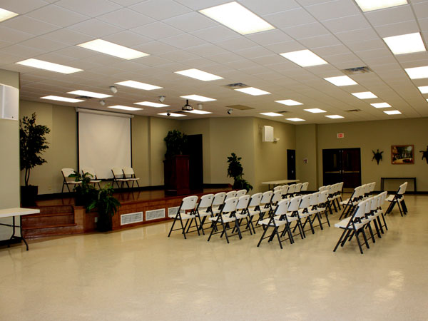 """S. L. Hall"" Auditorium"